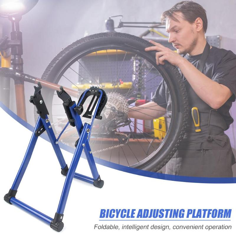 Bicycle Wheel Truing Stand Portable Bike Truing Stand MTB Mountain Road Bike Home Mechanic Repair Stand Bike Accessories Parts