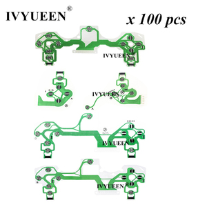 Image 1 - IVYUEEN 100 قطعة موصلة لوحدة تحكم PlayStation 4 PS4 PRO ، مع فيلم موصل ، وكابل مرن JDS 050 040 030 011