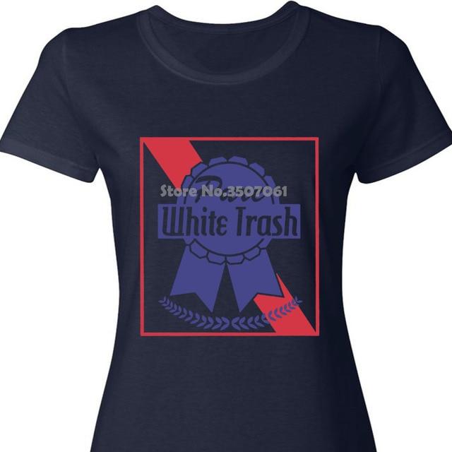 4th of July Pure White Trash White Womens Long Sleeve T-Shirt