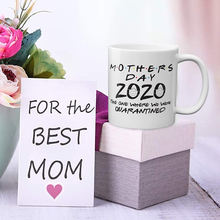 Letter Printed Coffee Mug Ceramic Simple Home Water Cup Mothers Day Birthday Gift J99Store