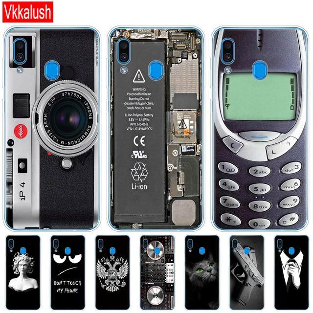 Case For Samsung Galaxy A20 Case A20E Silicon Tpu Back Cover For Samsung A20 A 20 2019 A205F A20E A202F Cover Soft Fundas Bumper