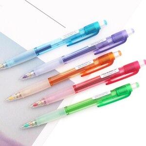 Image 4 - 5 قطعة/الوحدة اليابان الطيار H 185N قلم رصاص الميكانيكية بالجملة 0.5 مللي متر القياسية مكتب والمدرسة القرطاسية الكتابة اللوازم