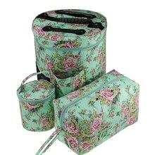 цена на Empty Yarn Storage Bag DIY Weave Crochet Hook Bag 7 Styles Crochet Hook And Knitting Bag For Hooking And Knitting Sewing