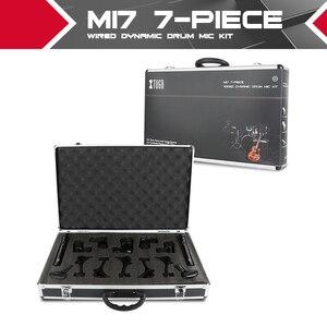 Image 1 - XTUGA NEWMI7 7 ชิ้นแบบใช้สายแบบไดนามิกกลองชุด (โลหะทั้งหมด) KICK Bass,TOM/Snare & Cymbals ชุดไมโครโฟนสำหรับกลอง,เสียง