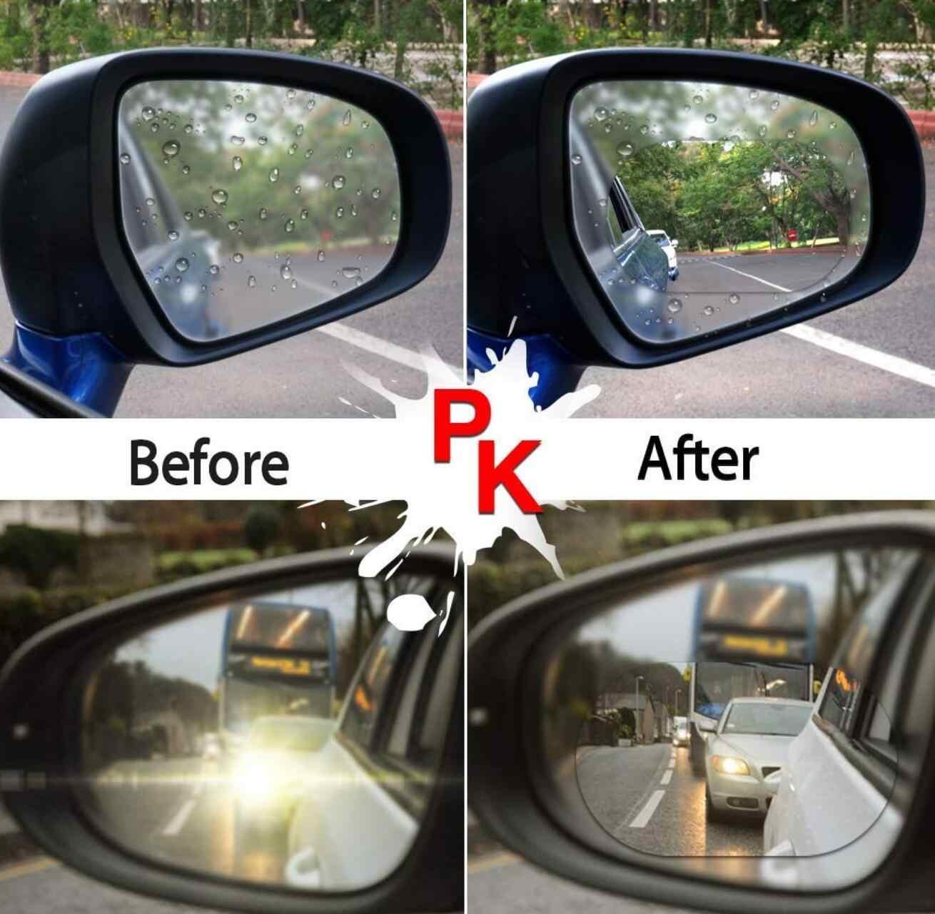Carro espelho retrovisor filme anti nevoeiro janela à prova de chuva espelho retrovisor para honda mugen energia para civic accord crv hrv jazz