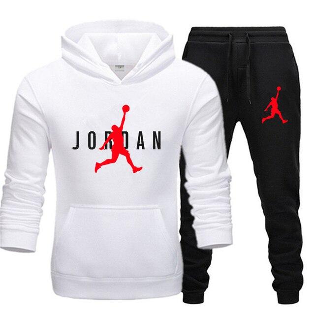 New Men Hoodie Set Jordan 23 Tracksuit