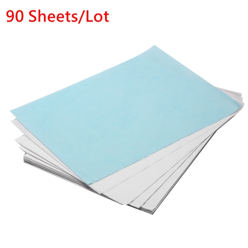 90PCS/Lot Translucent Tracing Paper Copy Transfer Printing Drawing Paper For Engineering Drawing Printing Sulfuric Acid Paper
