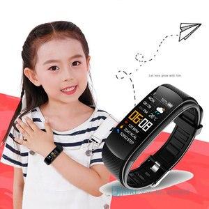 Image 1 - ファッションスマート腕時計の子供の子供スマートウォッチガールズボーイズ電子スマート時計子スポーツスマート腕時計高齢者6 18年
