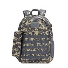 цена на Outdoor Sport Bag Tactical Climbing Hiking Trekking Military Waterproof Backpack Camouflage Rucksack Mountaineering Bag