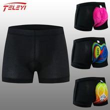 Teleyi 2020 nouveau short de cyclisme sous-vêtements de cyclisme Pro 20D Gel Pad antichoc cyclisme sous-pantalon vélo Shorts sous-vêtements de cyclisme