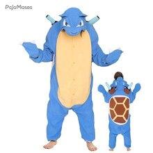 2021 The New Kigurumi Adult Neutral Animal Onesie For Halloween Costume Girls Onsie Cartoon Pajamas Funny Novetly One-Piece Ove