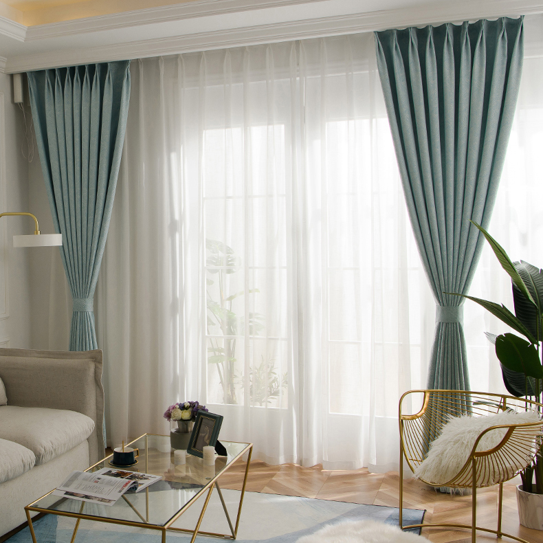 Modern Blackout Curtains For Window Treatment Blinds Livingroom Curtains Curtains For Bedroom High Shading Degree