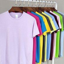 100% algodão tamanho da ue 21 cores dos homens de manga curta t camisa de fitness t-shirts dos homens o pescoço topos masculino tshirts XS-XXL frete grátis