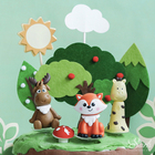 Panda Fox Sika Deer ...