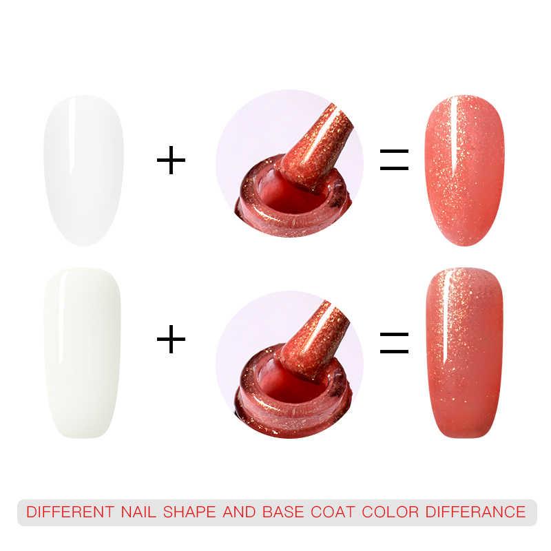Vier Lelie 5ml Kleur UV Gel Nagellak 176 Kleuren Gel Lak Alle voor Manicure Semi Permanente Losweken nail Art Gel Lak