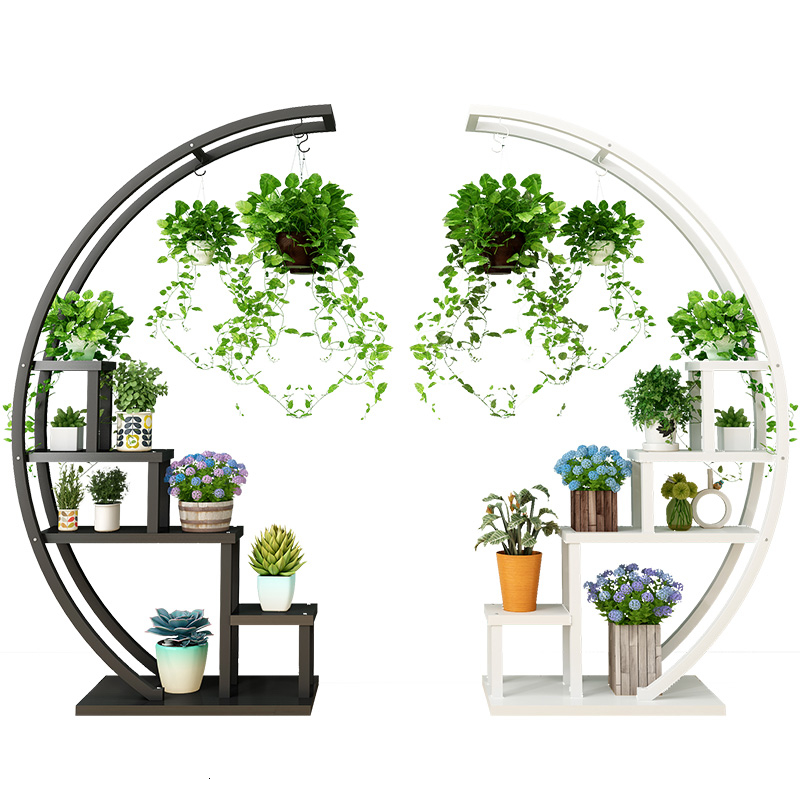 Indoor Flower Rack Balcony A Living Room Ground Iron Art Of Shelf Multi-storey Landing Type Many Function  Household