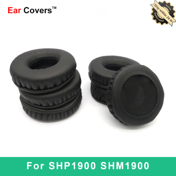 Ear Pads For Philips SHP1900 SHM1900 Headphone Earpads Replacement Headset Ear Pad PU Leather Sponge Foam ear pads for sony mdr zx770bn mdr zx770ap mdr zx770bn zx770ap headphone earpads replacement headset ear pad pu leather
