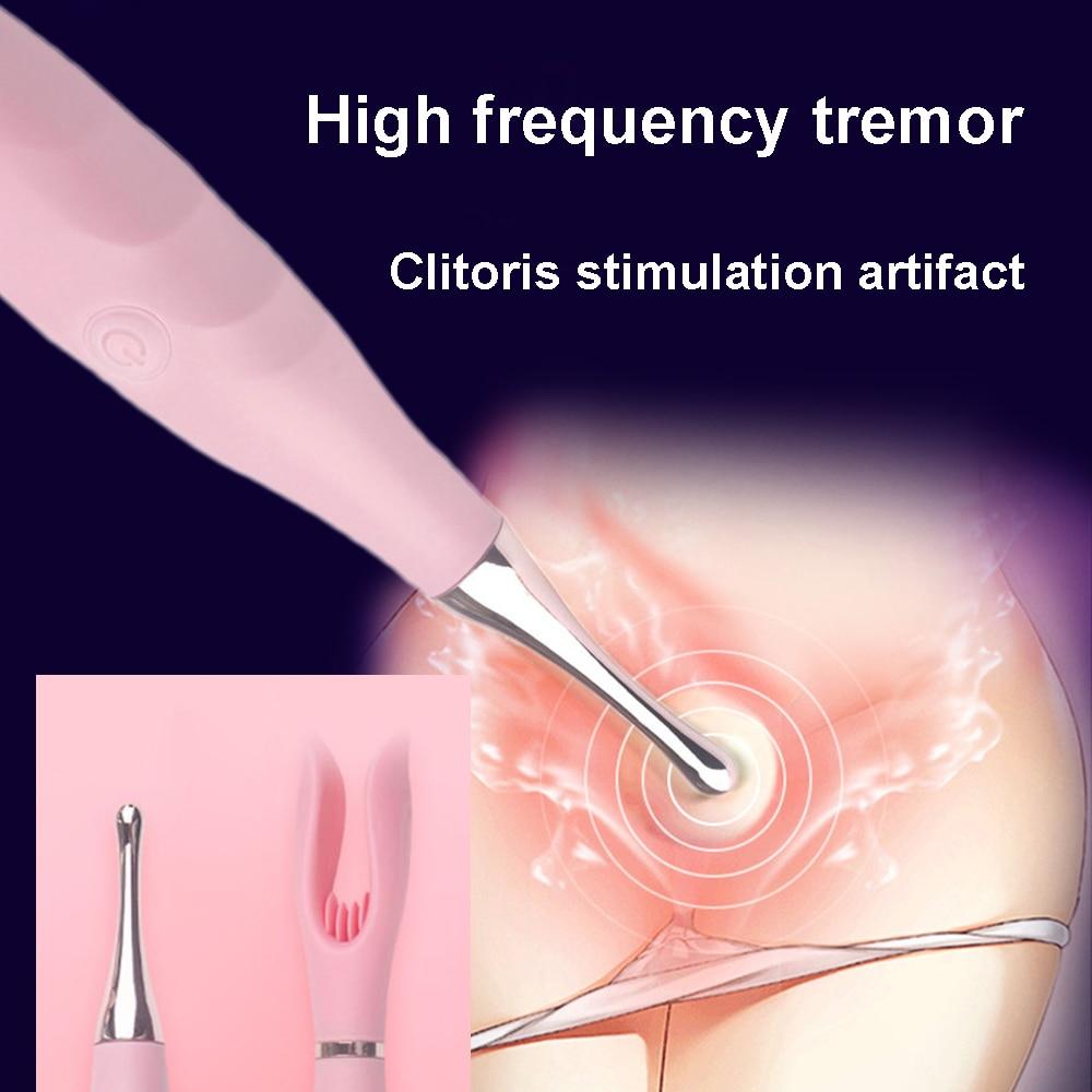 De silicona Vibradores para mujeres estimulador de clítoris consolador femenino vibración masajeador de Vagina, juguetes sexuales para par 10 frecuencia