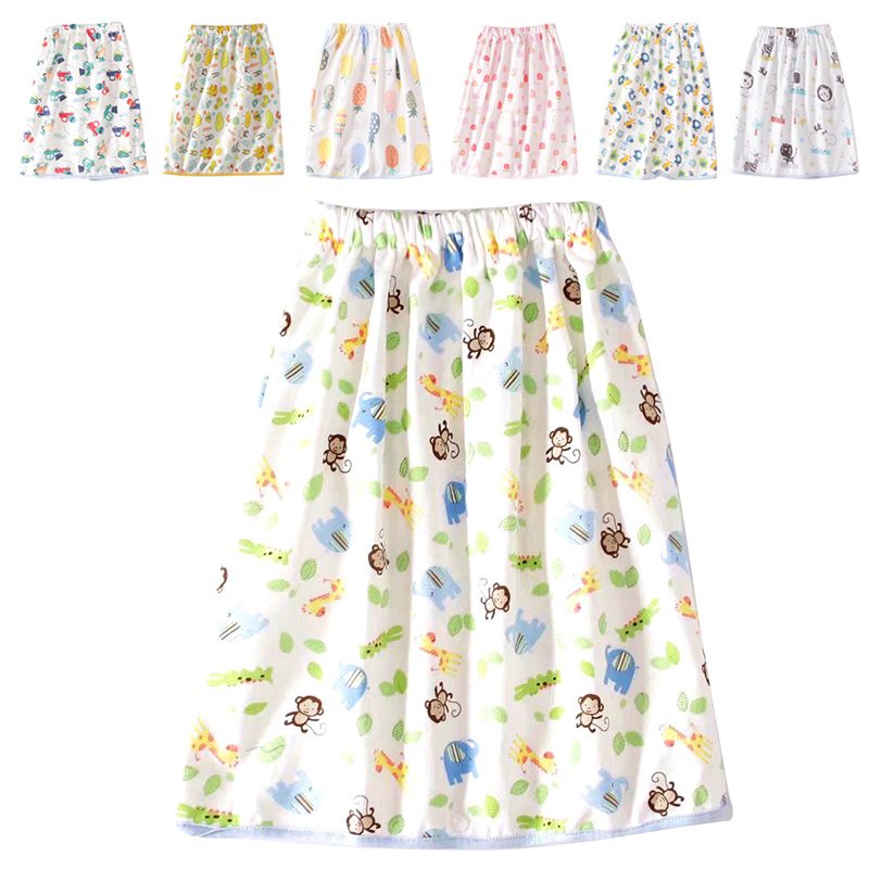 Foldable Baby Diaper Infant Travel Floral Pattern Changing Pad For Diaper Skirt Dress Reusable Washable Baby Diapering Cloths