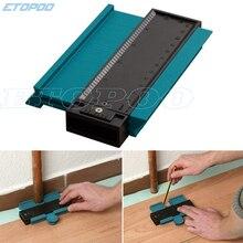 "250mm 10""/120mm 5"" Profile Copy Contour Gauge 10"" self lock Widen Duplicator Standard Wood Marking Tiling Laminate Tiles Tools"
