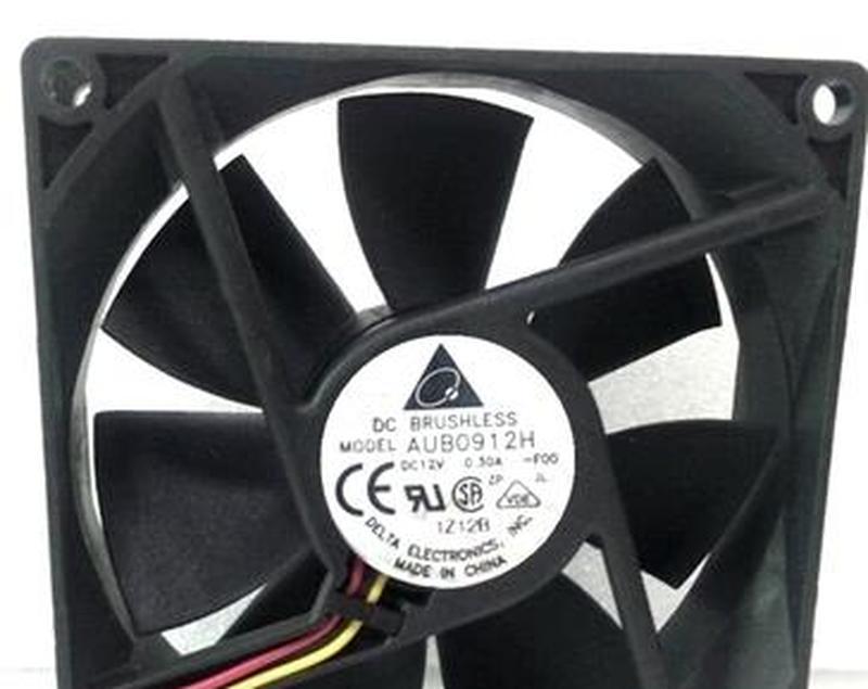 For Delta Electronics AUB0912H F00 DC12V 0.30A 9225 9.2CM 92mm 92x92x25mm 3Pin Cooling Fan Free Shipping