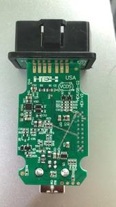 2020 действительно Hex-v2 VAG COM 20,4 VAGCOM 20.4.2 VCDS HEX V2 USB интерфейс для VW AUDI Skoda Seat неограниченные вины французский/английский