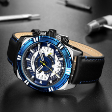 Mens Watches Top Brand Luxury Quartz Watch Men Causal Waterproof Chronograph Sport Watch Relogio Masculino Erkek Kol Saati