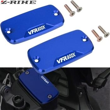 FOR HONDA VFR 800X VFR800X Motorcycle Accessories Part Fluid Reservoir Cap Motorbike front brake moto CNC Aluminum with LOGO