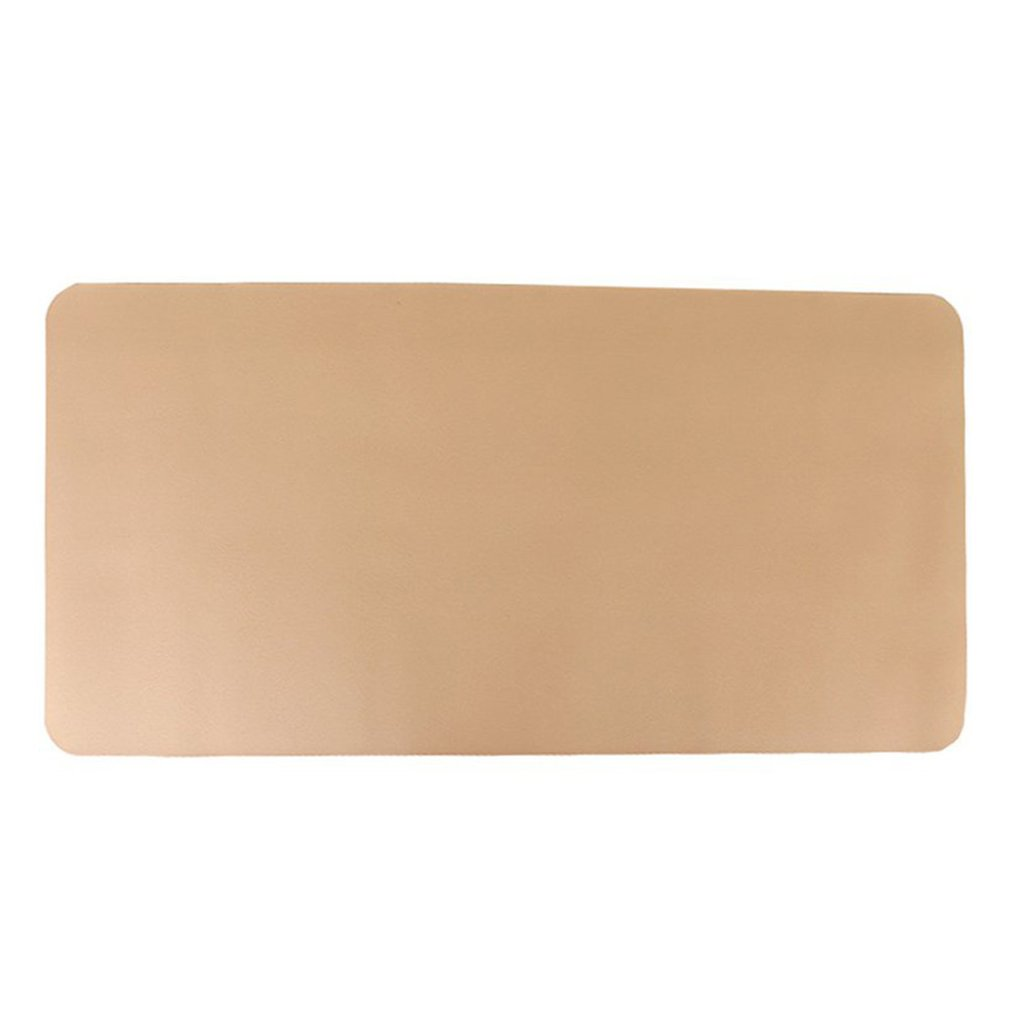 Mouse Pad Office Ordinary Non-Slip Mouse Pad Game Mouse Pad Computer Desk Pad Desk Book Pu Leather Table Mat Small