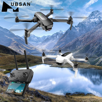 Original Hubsan H117s 1KM/ ZINO PRO 4KM GPS 5G WiFi FPV with 4K UHD Camera 3-Axis Gimbal Sphere Panoramas RC Drone Quadcopter 1