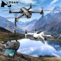 Oryginalny Hubsan H117s 1 KM/ZINO PRO 4KM GPS 5G WiFi FPV z 4K UHD aparat 3-osiowy Gimbal kula panoramy zdalnie sterowany dron quadcopter