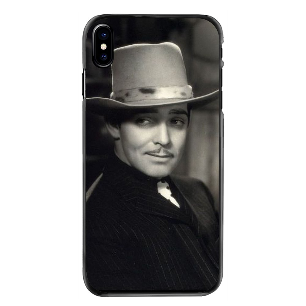 For iPhone 11 Pro iPod Touch 4 4S 5 5S 5C SE 6 6S 7 8 Plus X XR XS MAX Accessories Phone Covers Clark Gable What a hamdsome man image