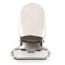 Новинка-20 x скобы зажимы ремешок крючки 20 мм серебристого цвета