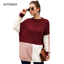 Pullover Sleeve Neck Autumn