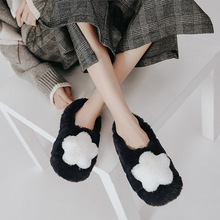 Winter Warm Home Slippers Women warm home indoor Shoes Non-slip Fluffy Ladies Hairball Furry Christmas gifts