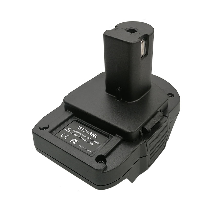 Adapter MT20RNL Junctor Converter Can Use Makita 18V Li-ion Battery BL1830 For Ryobi Nickel Lithium Battery P103 P108 One+ Tool