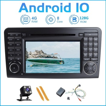 ZLTOOPAI Android 10 For Mercedes-Benz GL ML CLASS W164 X164 ML450 ML500 GL320 Multimedia Player GPS Navigation + Fiber Decoder