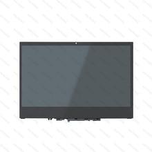 Original For YOGA 720-13IKB 720-13 LCD Touch Screen Digitizer Assembly With Bezel LP133WF4 SPB1 1920X1080 B133ZAN02.3 3840X2160 13 3 lcd led touch screen assembly with bezel for lenovo yoga 730 13ikb 81ct