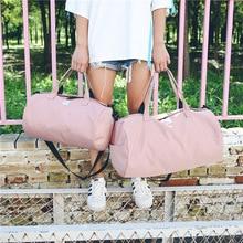 MissYe Bagmall  travel bag large capacity female duffel handbag light boarding simple shoulder sports fitness women