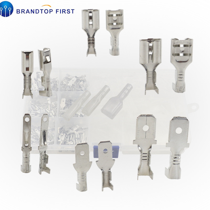 270Pcs Assorted Insulated Electrical Wire Terminals Crimp Connectors Spade Sets