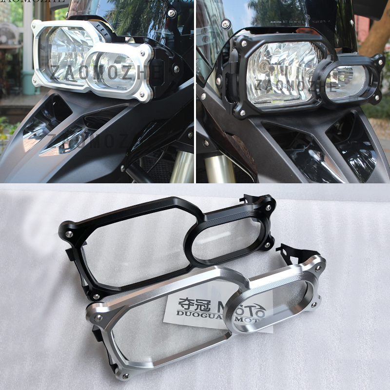 CNC Motorcycle Headlight Guard Protector For <font><b>BMW</b></font> F650/F700/F800 <font><b>GS</b></font>/Adventure F800GS F700GS F650GS <font><b>F</b></font> 800/<font><b>700</b></font>/650 <font><b>GS</b></font> image