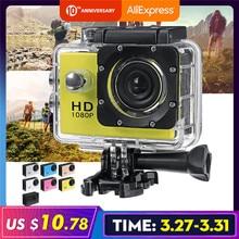 4K 1080P 2.0'' Camera Recorder LCD Screen Waterproof Outdoor Skiing Driving Sport DV Camcor