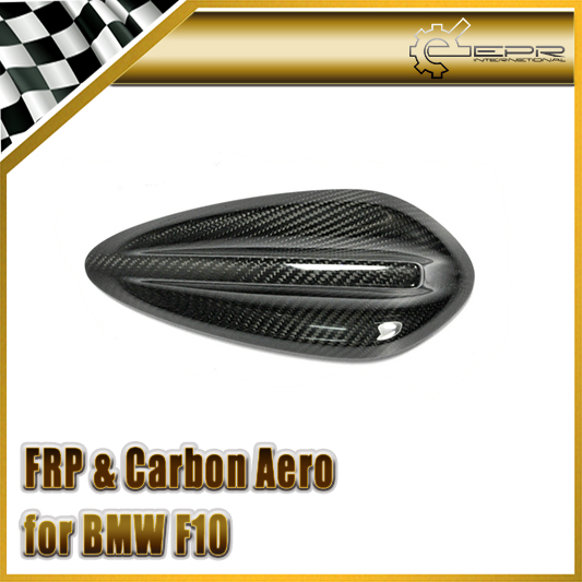 FOR <font><b>BMW</b></font> <font><b>F10</b></font> F18 F01 F02 Antenna Aerial Glossy Carbon Fiber Trim image