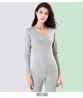 Autumn&winter new cotton women's thermal underwear thickening bottoming autumn clothes long pants cotton sweater set Qiuyi