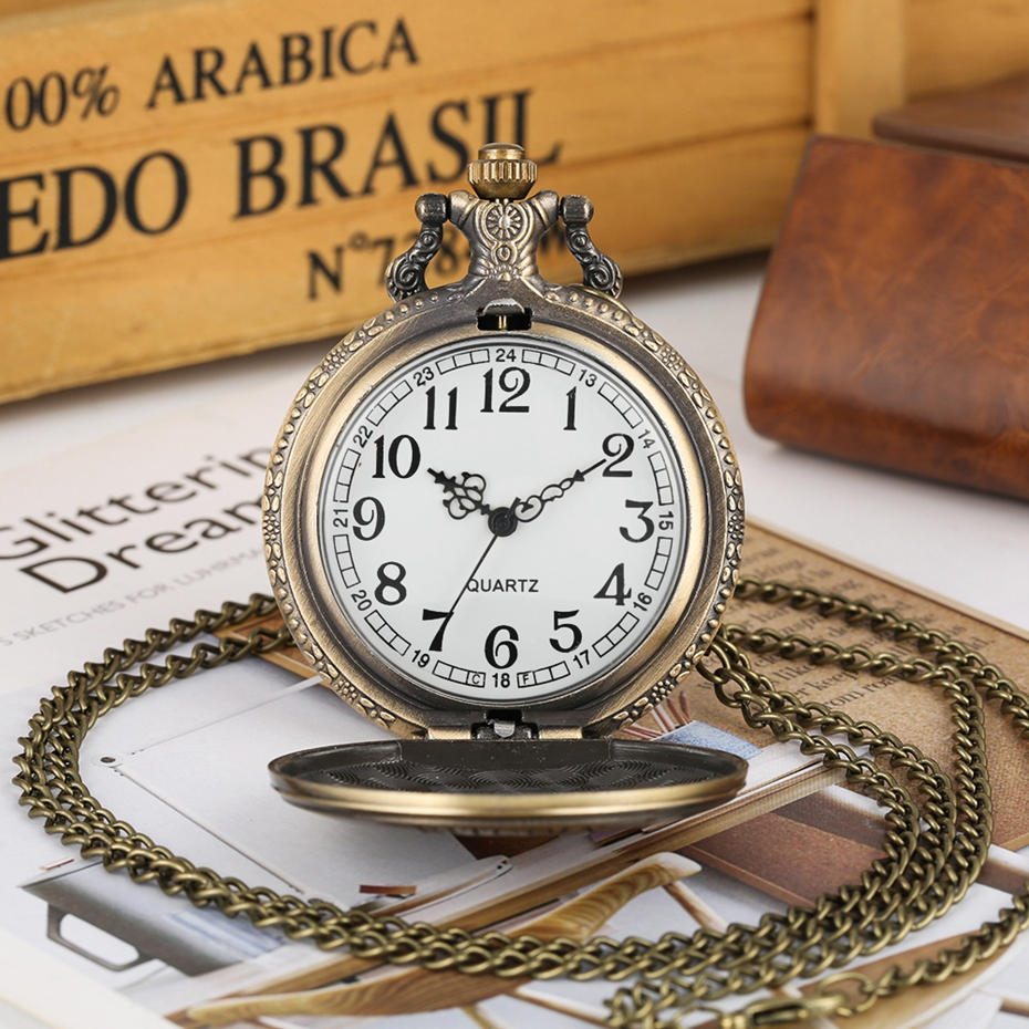 Hot Selling Classic The Little Prince Movie Planet Blue Bronze Vintage Quartz Pocket FOB Watch Popular Gifts for Boys Girls Kids 2019 2020 2021 2022 2023 (8)