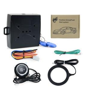 Image 5 - Auto Alarm Start Stop Taste Motor RFID Keyless Entry System Push Button Remote Starter Stop Auto