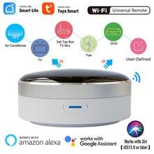 Controle remoto universal ir, controle remoto inteligente casa inteligente infravermelho controle remoto hub casa inteligente aplicativo controle de voz