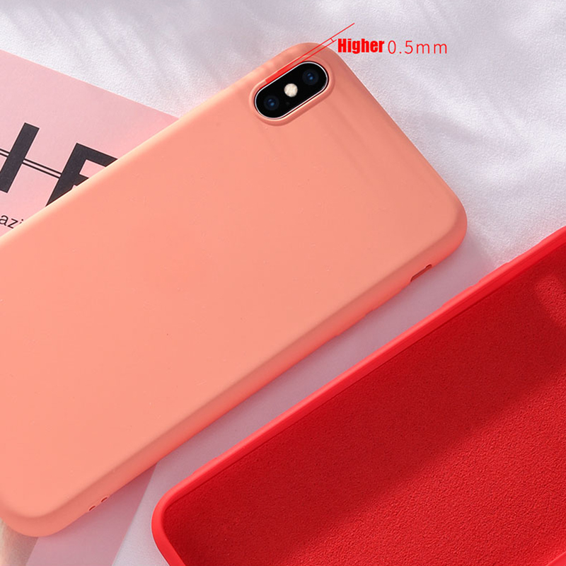 For Huawei P40 Lite P30 Pro NFH Original Liquid Silicone Case For Huawei Mate 30 20 10 9 Pro Honor V30 Y9 Prime 2019 Soft Cover