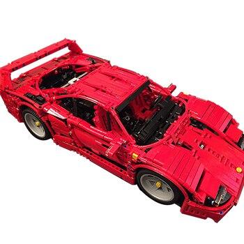 Sports Car Series Building Blocks Compatible MOC-3657 FerrariF40 Technic Bricks Diy Toy Christmas Gift цена 2017