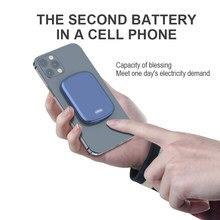 Para magsafe15w pd 20w de carregamento sem fio magnético power bank 10000mah para apple 12 série telefones celulares mini banco potência